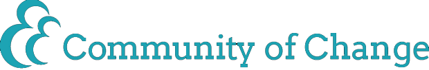 Community of Change logo.